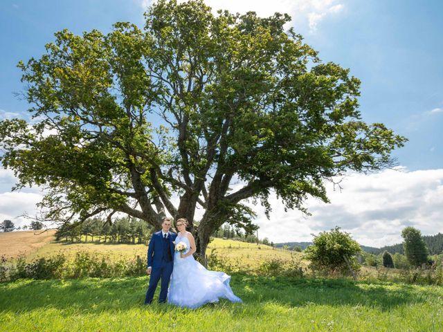 Le mariage de Romain et Elsa à Allenc, Lozère 7