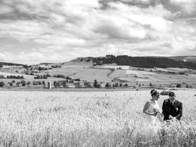 Le mariage de Romain et Elsa à Allenc, Lozère 1