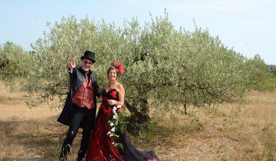 Le mariage de Franck et Laure à Congéniès, Gard
