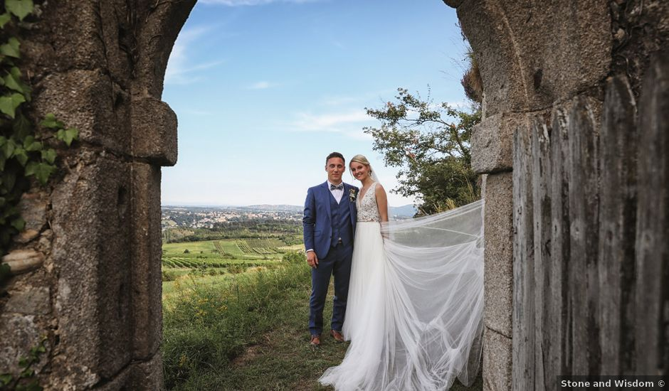 Le mariage de Pierre et Violaine à Vourles, Rhône