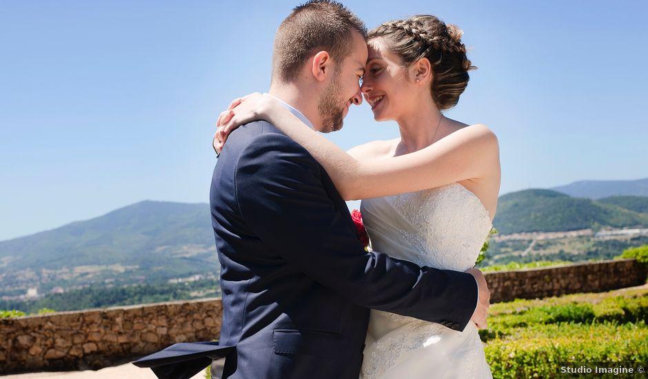Le mariage de Kévin et Justine à Saint-Clair, Ardèche