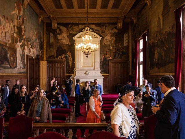 Le mariage de Shafinuz et Justine à Paris, Paris 7