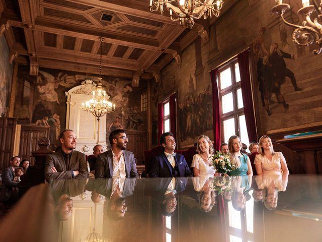 Le mariage de Shafinuz et Justine à Paris, Paris 9