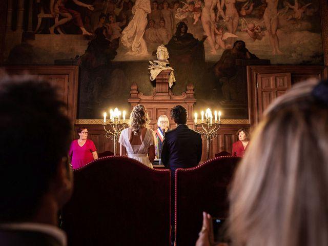 Le mariage de Shafinuz et Justine à Paris, Paris 1
