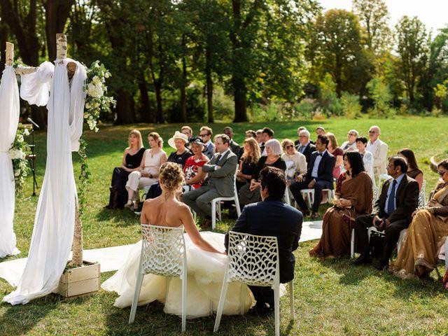 Le mariage de Shafinuz et Justine à Paris, Paris 44