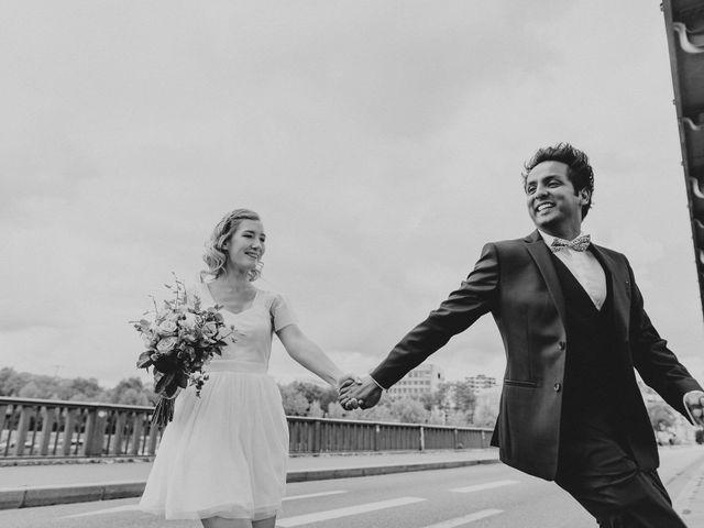 Le mariage de Justine et Shafinuz