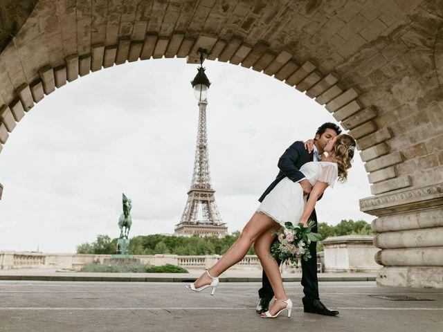 Le mariage de Shafinuz et Justine à Paris, Paris 73