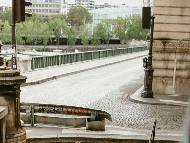 Le mariage de Shafinuz et Justine à Paris, Paris 74