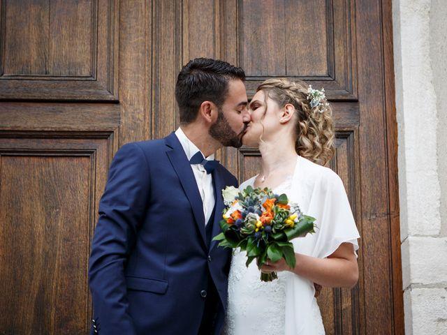 Le mariage de Jean-Christophe et Estelle à Saint-Laurent-d'Oingt, Rhône 29