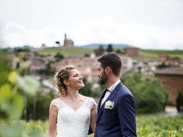 Le mariage de Jean-Christophe et Estelle à Saint-Laurent-d'Oingt, Rhône 38