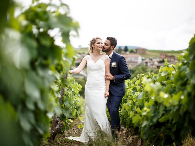 Le mariage de Jean-Christophe et Estelle à Saint-Laurent-d'Oingt, Rhône 41