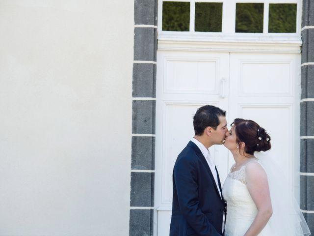 Le mariage de Ludovic et Aurélia à Montpensier, Puy-de-Dôme 19