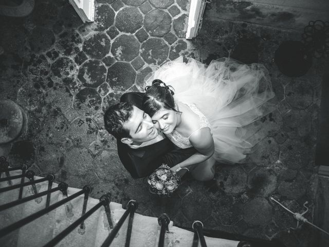 Le mariage de Ludovic et Aurélia à Montpensier, Puy-de-Dôme 20