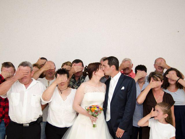 Le mariage de Ludovic et Aurélia à Montpensier, Puy-de-Dôme 23