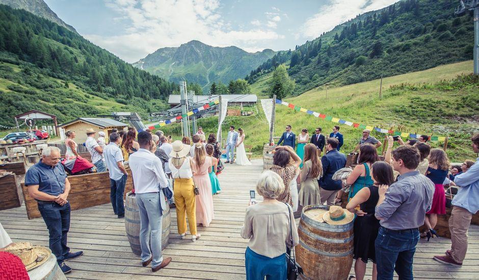 Le mariage de Hugo  et Maelle à Bellentre, Savoie