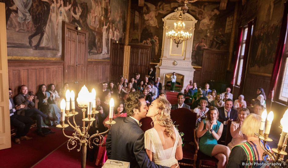 Le mariage de Shafinuz et Justine à Paris, Paris
