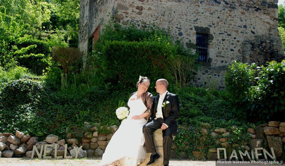 Le mariage de Damien et Nelly à Queyrières, Haute-Loire