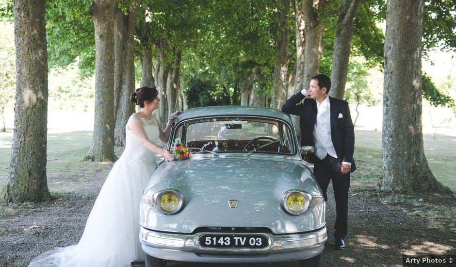 Le mariage de Ludovic et Aurélia à Montpensier, Puy-de-Dôme