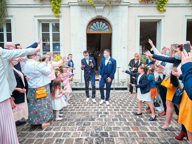 Le mariage de Geoffrey et Xavier à Pont-sur-Yonne, Yonne 30