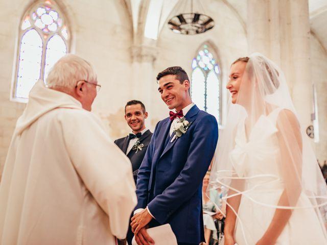 Le mariage de Jérémie et Julie à Lignières-Sonneville, Charente 8