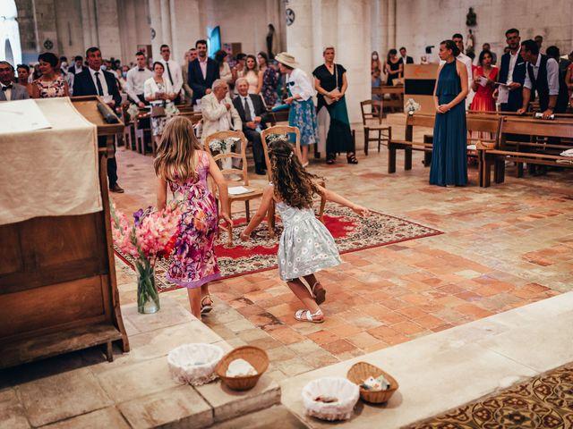 Le mariage de Jérémie et Julie à Lignières-Sonneville, Charente 17
