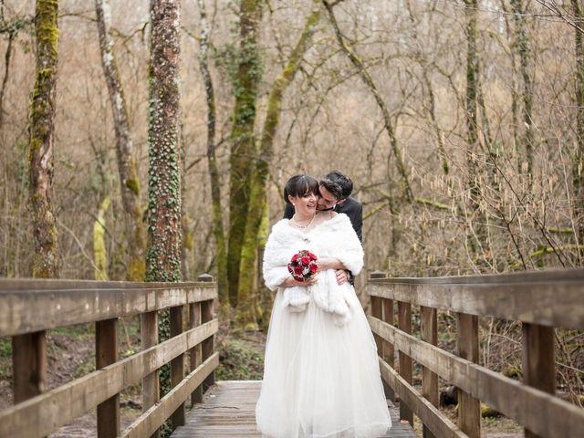 Le mariage de Gazmend et Rebecca à Reignier, Haute-Savoie 1