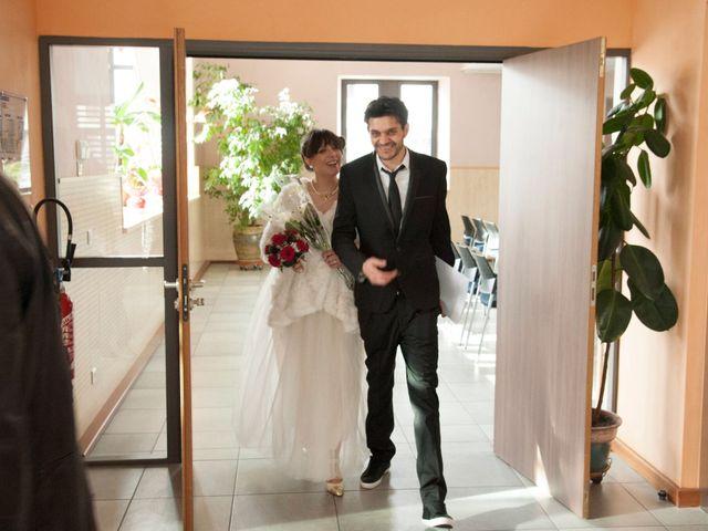 Le mariage de Gazmend et Rebecca à Reignier, Haute-Savoie 2