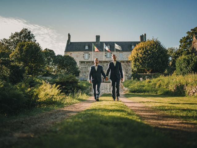 Le mariage de Jonathan et Guillaume à Le Relecq-Kerhuon, Finistère 130