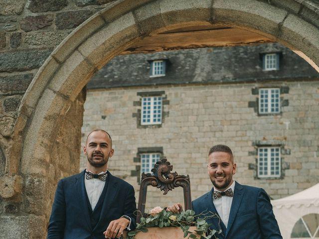 Le mariage de Jonathan et Guillaume à Le Relecq-Kerhuon, Finistère 135