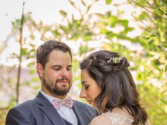 Le mariage de Benjamin et Audrey à Saint-Symphorien, Eure 1