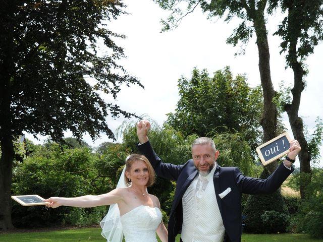 Le mariage de Eric et Sandrine à Bolleville, Seine-Maritime 6