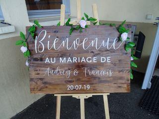 Le mariage de Audrey et François