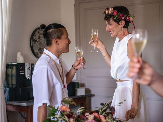 Le mariage de Marco et Emilie à Mirabel-et-Blacons, Drôme 10