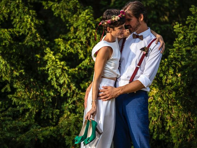 Le mariage de Marco et Emilie à Mirabel-et-Blacons, Drôme 28
