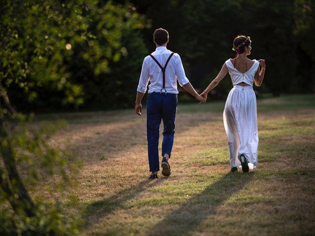 Le mariage de Marco et Emilie à Mirabel-et-Blacons, Drôme 32