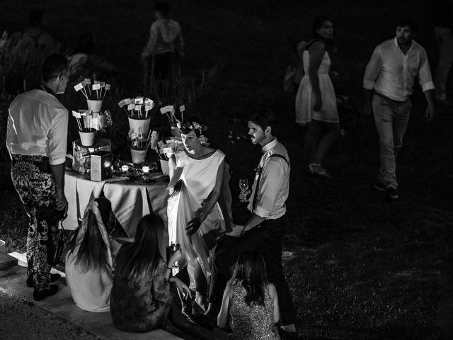 Le mariage de Marco et Emilie à Mirabel-et-Blacons, Drôme 41