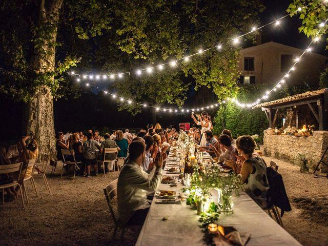 Le mariage de Marco et Emilie à Mirabel-et-Blacons, Drôme 42