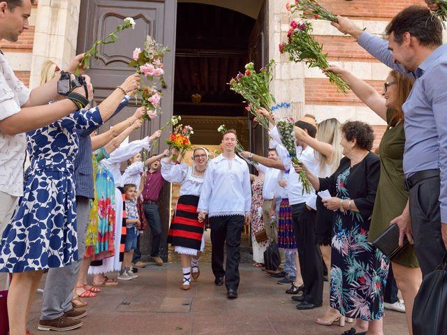 Le mariage de James et Emilia à Toulouse, Haute-Garonne 13