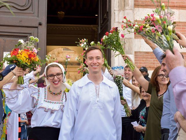 Le mariage de James et Emilia à Toulouse, Haute-Garonne 14