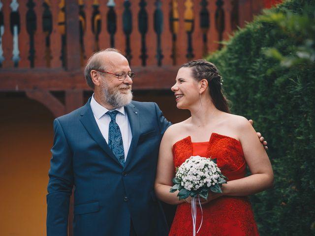Le mariage de Sébastien et Coralie à Kientzheim, Haut Rhin 16