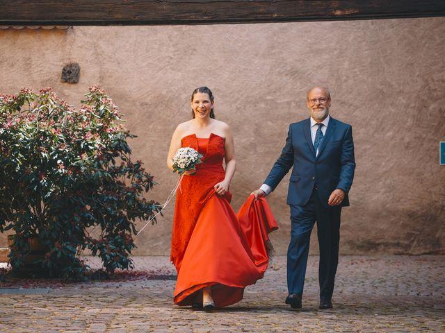 Le mariage de Sébastien et Coralie à Kientzheim, Haut Rhin 18
