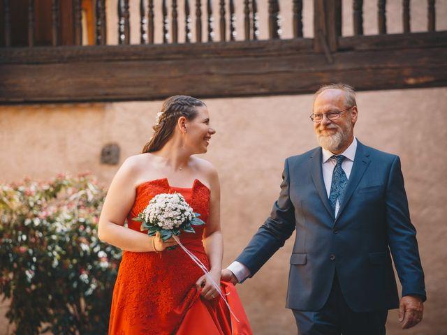 Le mariage de Sébastien et Coralie à Kientzheim, Haut Rhin 19