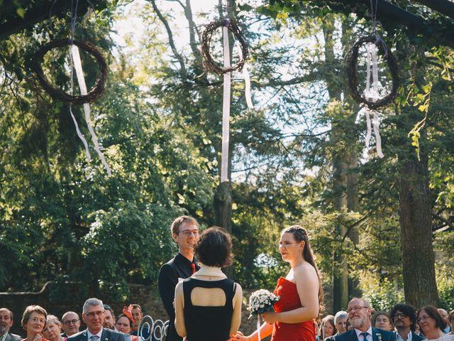 Le mariage de Sébastien et Coralie à Kientzheim, Haut Rhin 41