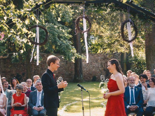 Le mariage de Sébastien et Coralie à Kientzheim, Haut Rhin 53