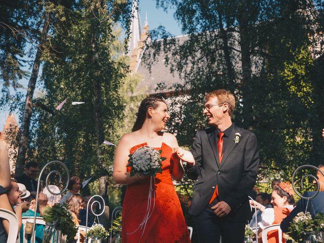 Le mariage de Sébastien et Coralie à Kientzheim, Haut Rhin 59
