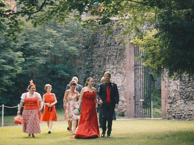 Le mariage de Sébastien et Coralie à Kientzheim, Haut Rhin 61