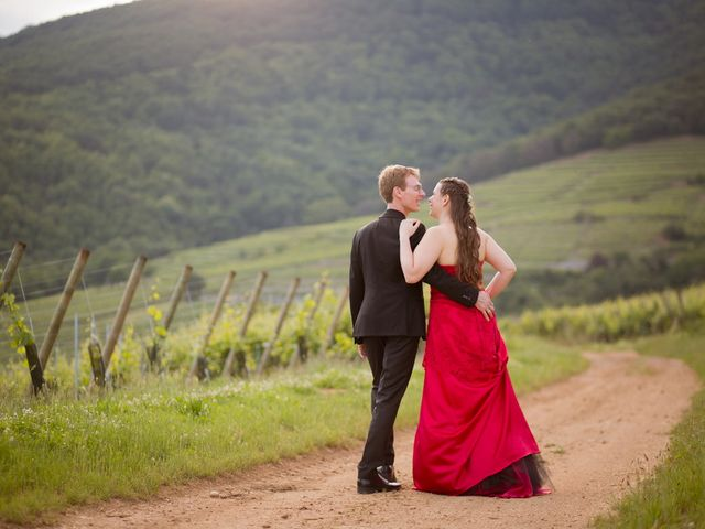 Le mariage de Sébastien et Coralie à Kientzheim, Haut Rhin 69