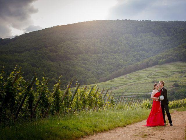 Le mariage de Sébastien et Coralie à Kientzheim, Haut Rhin 70