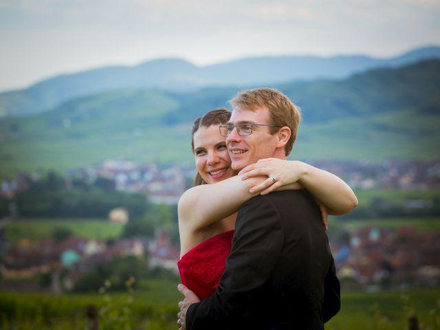 Le mariage de Sébastien et Coralie à Kientzheim, Haut Rhin 75