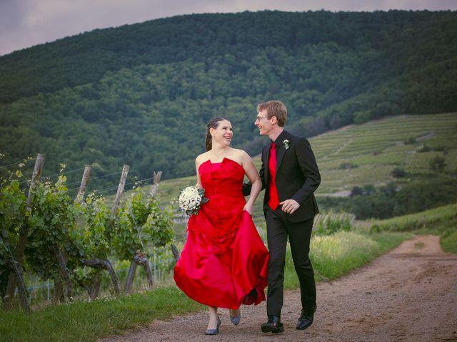 Le mariage de Sébastien et Coralie à Kientzheim, Haut Rhin 79
